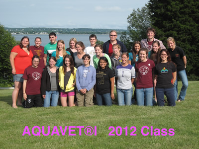 AQUAVET I 2012 Class Photo