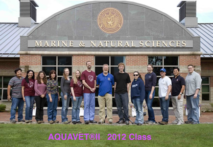 AQUAVET II Class Photo