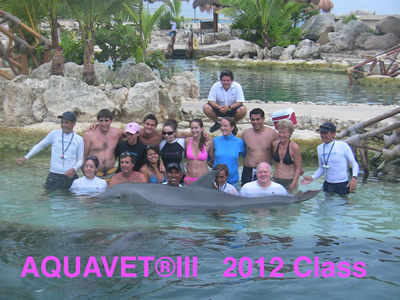 AQUAVET III Class Photo