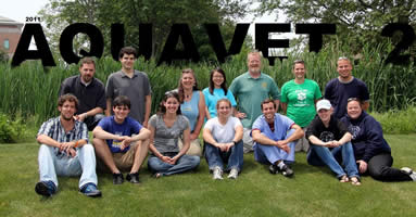 2011 AQUAVET II class photo