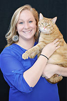 Development Assistant, Jacki HInkle, and a friend